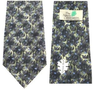 Nature Conservancy Bears Silk SyrianNecktie